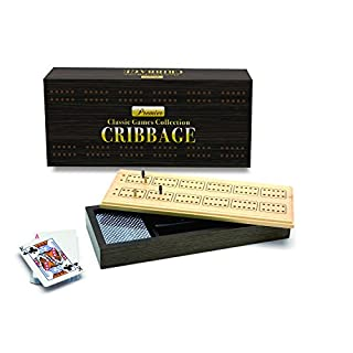 New Entertainment Premier Cribbage Board Game