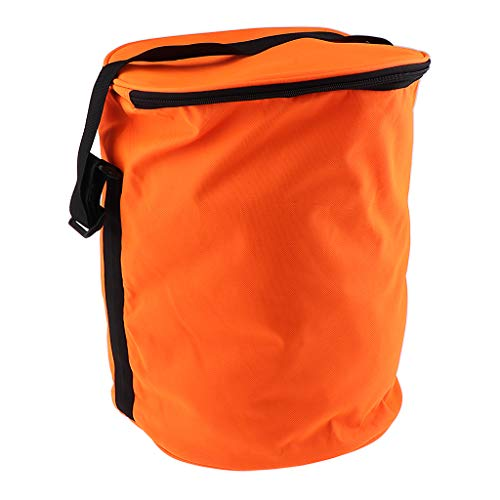 Sport De à De Fityle Panier Orange Main Balles Stockage Rond Orange Sac De à De Durable Tennis Sport Sac Sac Main F fSq80