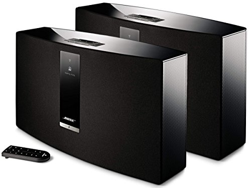 Bose-SoundTouch-30-Wireless-Music-System-Bundle-2-Pack-Black