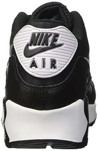 Femme Black Silver White Gris Max 90 Noir Nike Essential Metallic Air WMNS Baskets p7wxAzYq