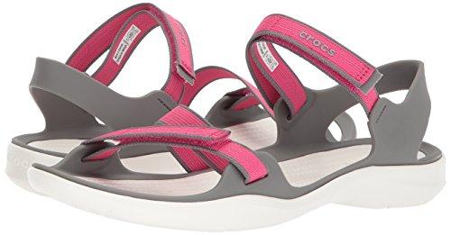 Sandal Swiftwater Women Webbing Smoke Pink Paradise Croslite Crocs pxz6qZwPpE