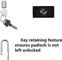 Safety Padlock,10 PCS with Number Black NO.1-10 Lockout Tagout Locks