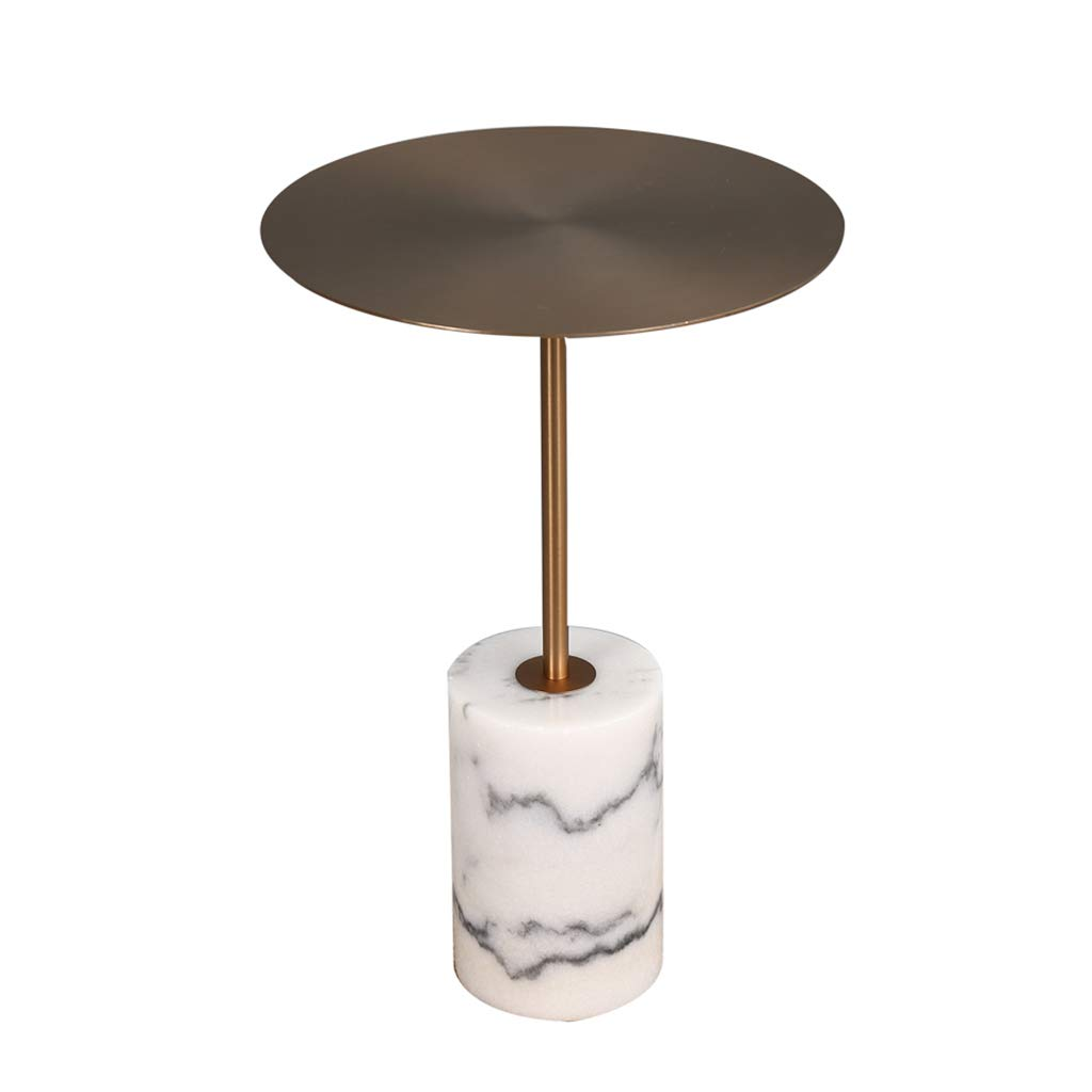 Coffee Tables Telephone Tables Telephone Table Bed Table Modern Minimalist Metal Round Side Nordic Marble Living Room Sofa Corner Small Round Table Bedroom Balcony Side Table Console Table by Coffee Tables