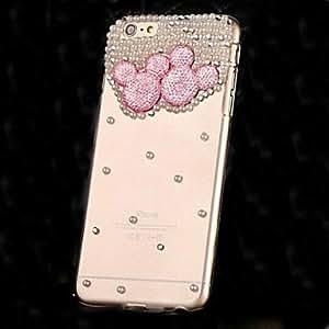 WQQ lujo de diamantes perla cristal para iPhone 6Plus