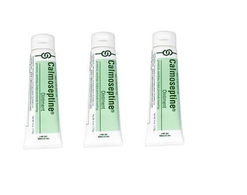 Calmoseptine Ointment Tube (Calmoseptine Ointment Tube, 20 Gram, (Pack of 3))