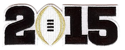 2015 College National Championship Bowl Game Jersey Patch Oregon Ducks vs. Ohio State Buckeyes (White)