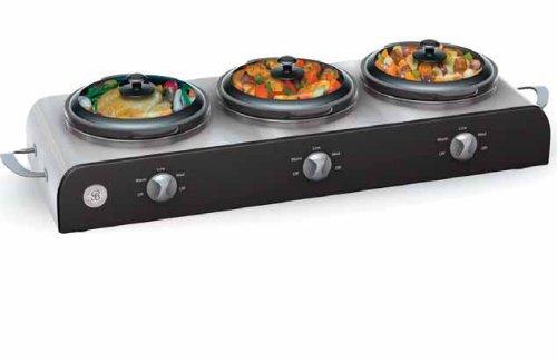 Marvelous Amazon.com: Sensio 13408 Bella Cucina Buffet Station With 3 2 1/2 Quart  Stoneware Pots: Slow Cookers: Kitchen U0026 Dining