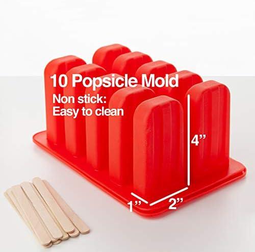 Amazon.com: RDLC & Company Moldes de silicona sin BPA, 10 ...