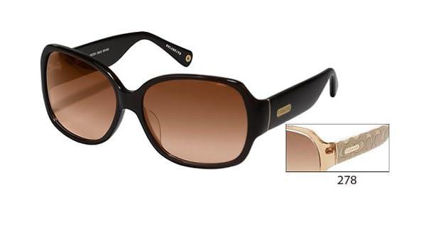 8a5865aa1de5 Amazon.com: COACH ODESSA 822 color 278 Sunglasses: Health & Personal Care