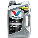 Valvoline  Advanced Full Synthetic SAE 5W-30 Motor Oil 5 QT, Case of 3