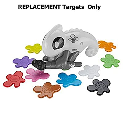 Replacement Parts for Smart Scan Chameleon - Fisher-Price Think & Learn Smart Color Chameleon ~ Replacement Targets ~ Set of 10 ~ Various Colors: Toys & Games