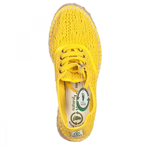 Jaune World Natural Pour 504am 41 Femme 686 Nw Espadrilles 41 4xwvgq