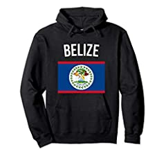 Our Belize hoodie is an ideal Belizean gift for men, women and kids. This Belize flag hoodie is the ideal outfit for your next trip to Belize. Let everybody know that you love Belize with this Belizean flag hooded sweatshirt. This Belize flag...