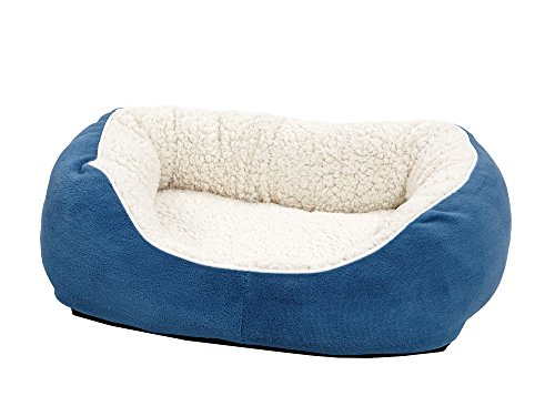 Midwest Homes for Pets Cuddle Bed, Blue, Small Review
