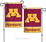 "WinCraft NCAA University Minnesota Golden Gophers 12.5"" x 18"" Inch 2-Sided Garden Flag"