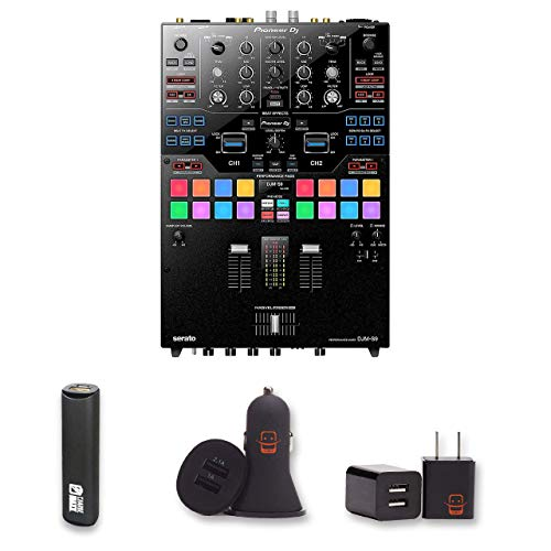 Price comparison product image Pioneer DJ DJM-S9 Battle Mixer with 2 Year Warranty + PowerBank + USB Car Charger + USB Wall Charger,  EZEE Bundle