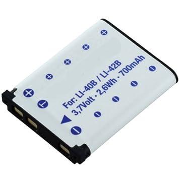 Recambio batería batería para Praktica luxmedia 14-04//14-z4//14-z4ts
