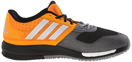 adidas Rendimiento Hombre CrazyTrain Boost Shoe ejercicios Equipment Orange/Metallic Silver/Grey