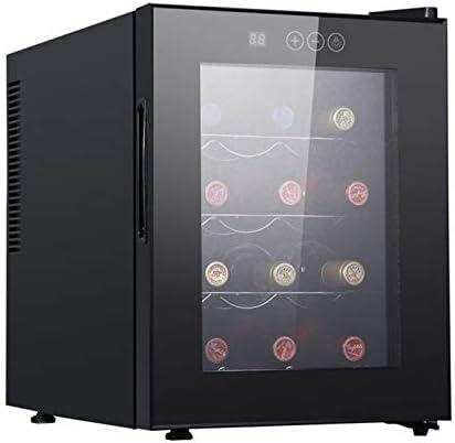 SADWQ Enfriador de Vino de 12 Botellas Cocinas Empotradas Diseño Bajo Mostrador Bodega Independiente del Espacio de Enfriamiento se Enfría hasta 5oC