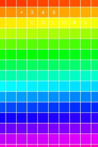 #360 colors: hexadecimal swatch book | 4