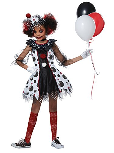 Creepy Clown Girl Girls Costume