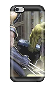 Fashion EJtVpRs731rpMkM Case Cover For Iphone 6 Plus(the Hulk And Wolverine)