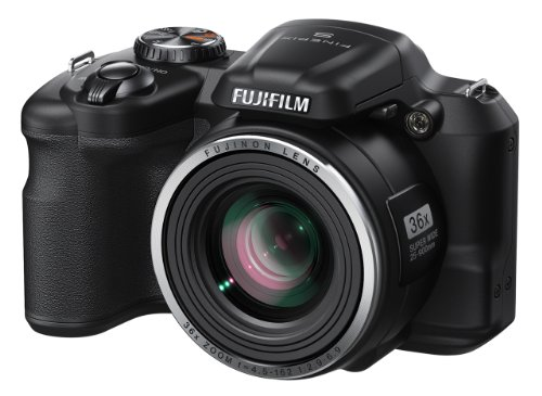 Fujifilm FinePix S8600 16 MP Digital Camera with 3.0-Inch LCD (Black)