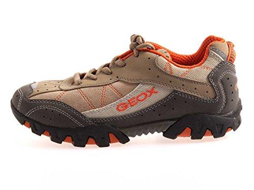 Geox Jungensneaker Sneaker Ledersneaker Mesh Schuhe Sportschuhe 1001 EU 35