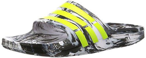 Transparent Adidas Multicolores Unisexe Jaune Et Solaire Impermables Duramo Slide Noir onix Chaussures 7qxfRR