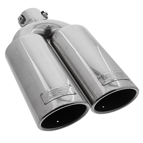 - DC Sport EX-2012 Stainless Steel Oval Slant Cut Bolt-on Exhaust Tip