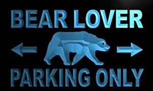 ADV PRO m178-b Bear Lover Parking Only Neon Light Sign