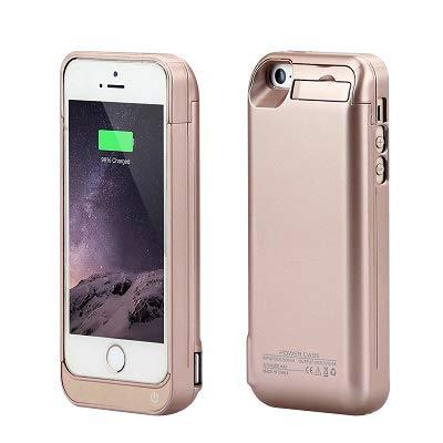 syr-new mitad unidades 4200 mAh Funda Cargador de batería externa Power Bank para iPhone 5/5S/5 C, se