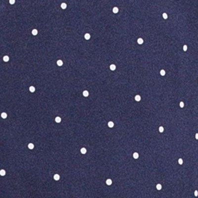 PajamaGram So-Soft Pin Dot Womens Pajamas - 2 Piece PJ Set, Navy, Medium 8-10 by PajamaGram (Image #1)