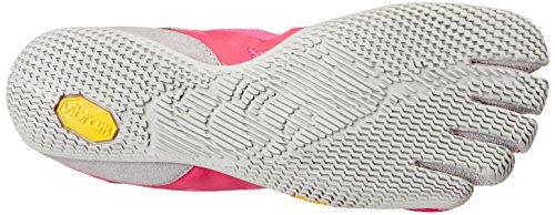 Vibram Fivefingers KSO Evo, Scarpe Sportive Donna Rosa (Pink/Grey)