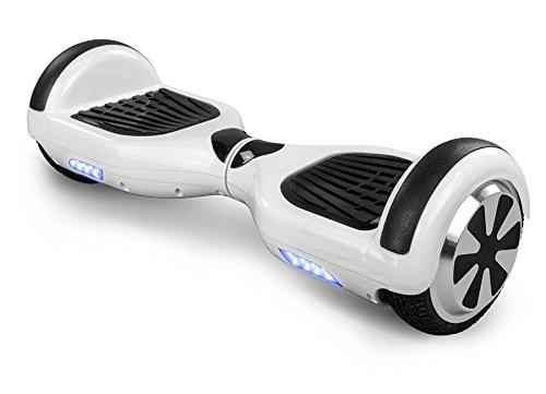 Smart Elektro Elektroroller Skateboard Tretroller Driveboard Roller (Weiß)