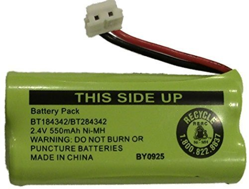 Ge Dect Telephone - Replacement Battery BT184342 / BT284342 for Many GE/RCA Cordless Telephones (See Description)