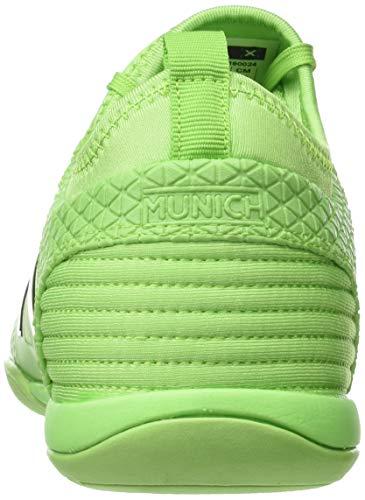 Munich Unisex 24 verde Tiga Zapatillas Verde De Indoor Deporte Adulto 7aFr7