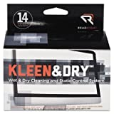 Read Right RR1205 Two Step Screen Kleen Wet and Dry Cleaning Wipes 5 x 5 14/Box