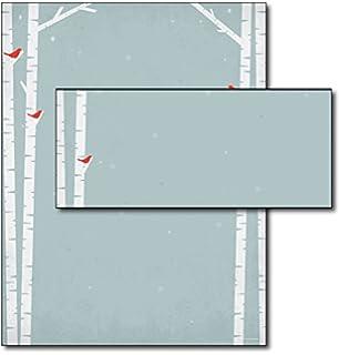 birch tree letterhead u0026 envelopes 40 sets