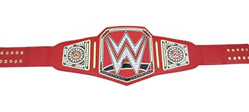 WWE Championship Wrestling universal Replica Cinturón de piel planchas de bronce