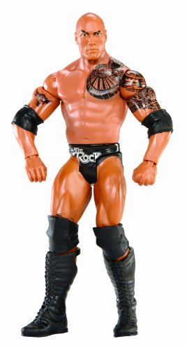 WWE Series #32 The Rock Figure by WWE