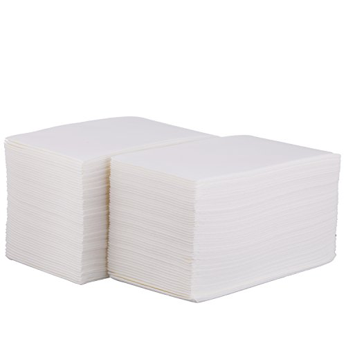 Disposable Cloth-Like Paper Hand Guest Towels – Soft, Absorbent, Air laid Tissue Paper for Kitchen, Bathroom or Events, White Guest Towel (1000) by eDayDeal (Image #1)