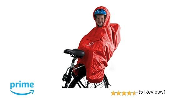 HAMAX - Poncho Impermeable Rojo Rojo Talla:Talla única: Amazon.es: Ropa y accesorios