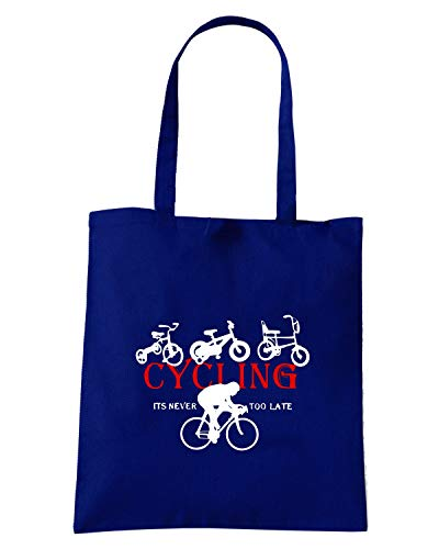 Speed Shirt Borsa Shopper Blu Navy OLDENG00321 CYCLING CYCLISTS