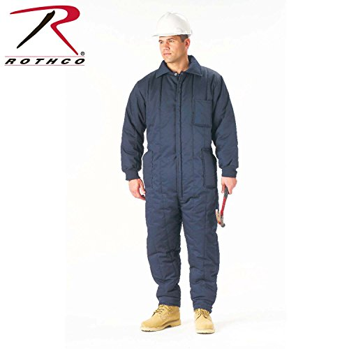 Review Rothco Insulated Coverall, Navy Blue, Large
