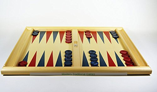 Dal Negro Skiathos Lime and Maple wood Backgammon Set