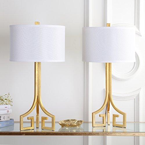 - Safavieh Arabelle Bedside Lamps, Gold
