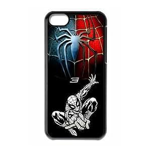 Apple iPhone 5C Hard Plastic Cover Case Marvel Comics hero spiderman