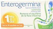 Enterogermina Microorganismos Antidiarreicos, Caja Con 10 Ampolletas