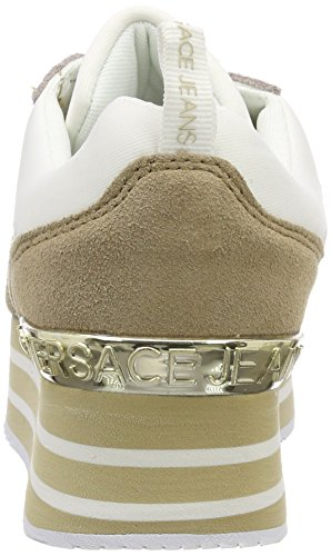 Atlantic Jeans Donna Scarpa Versace Sneaker Blu x0ATxq6